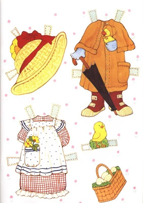 Puddin Paper Doll -Reproduction edition by Award Publications Limited, 2000: page 3 (of 8)