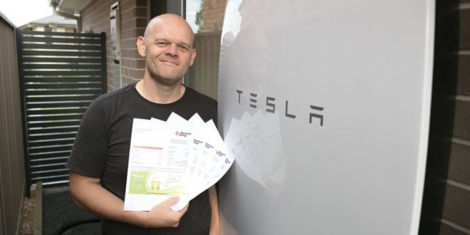 First Australian Family To Own A Tesla Powerwall Save 90 On Power Costs You Can Too Read More Here Offgrid Tesla Tesla Powerwall Powerwall Energy Bill