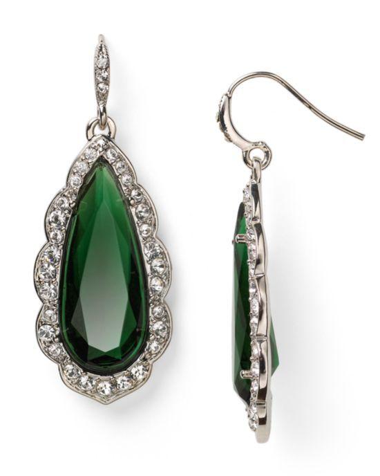 Carolee Lux Eastern Opulence Medium Teardrop Earrings