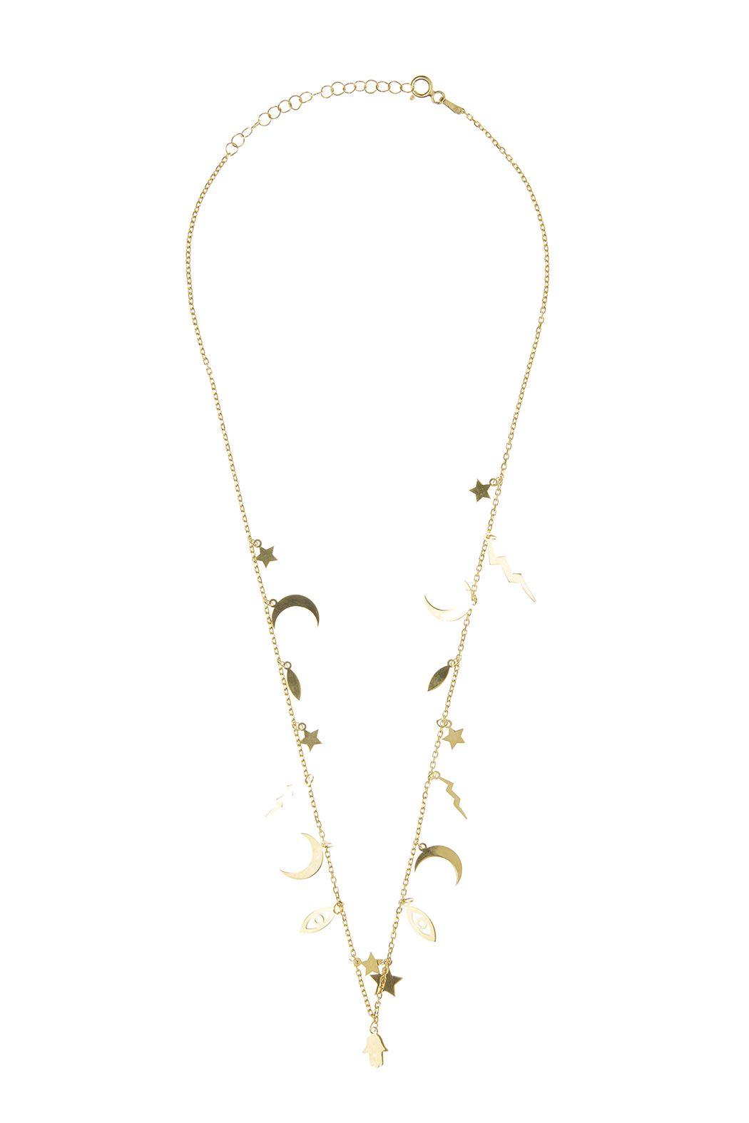 50f4a1ba9bb38 Lets Accessorize Gold Charm Necklace | Shoptiques Boutique Products ...