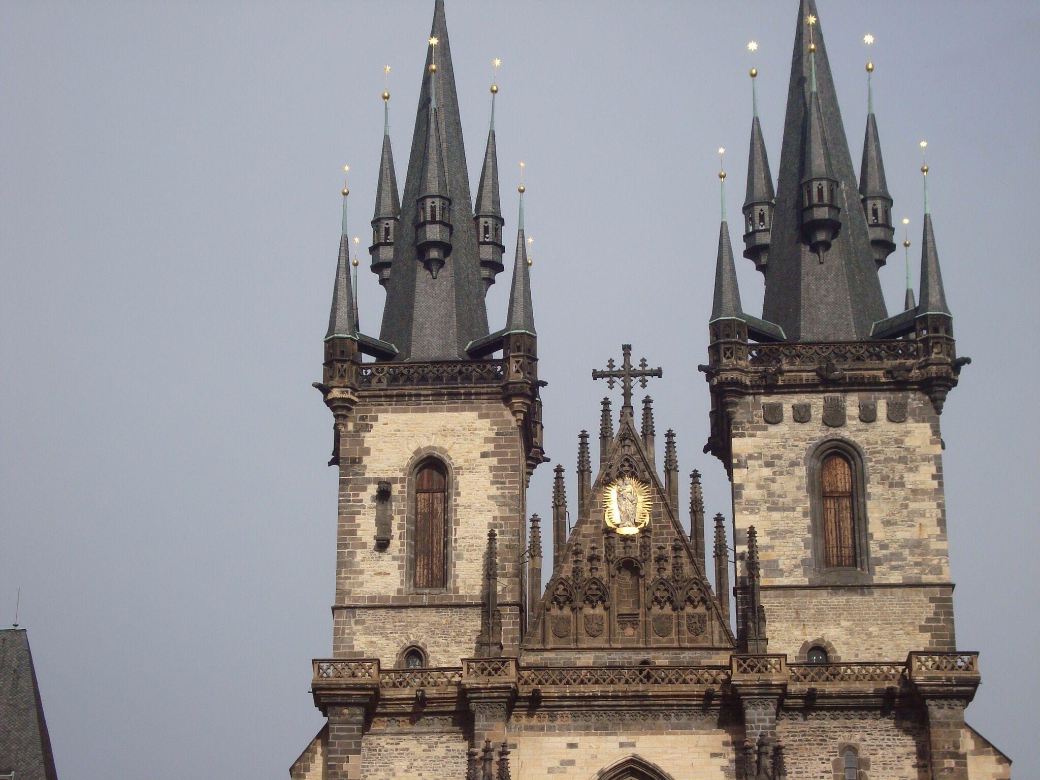 Torres de la Igglesia de Tyn.