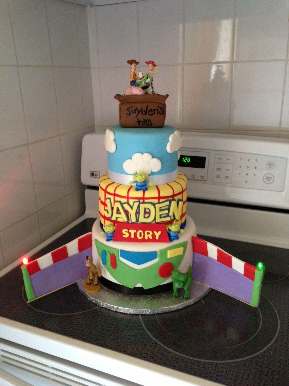 Buzz cake cake toy story birthday desserts