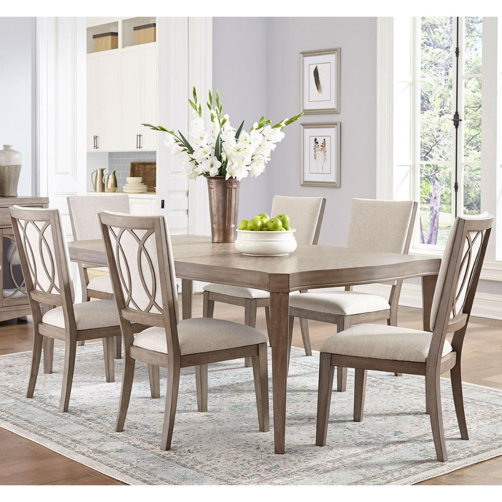 Pin By Stephanie Williams On Dining Room Furniture 7 Piece Dining Set Upholstered Chairs