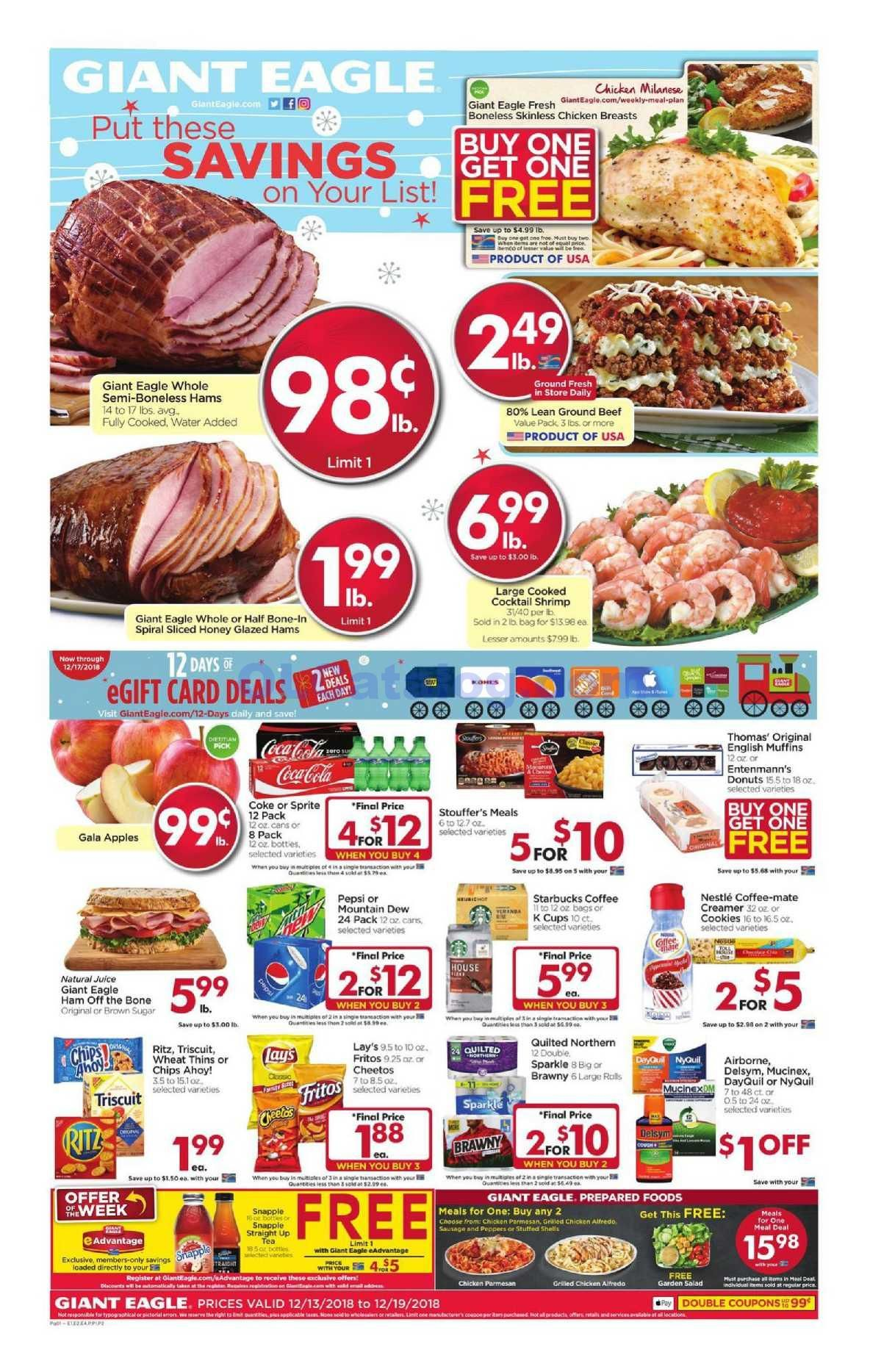giant food store circular for next week
