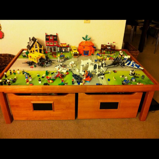 Charmant Pottery Barn Kids Activity Table. We Used It As A Train Table And Now We  Turned It Into A Lego Table.. Great Multi Use Table .