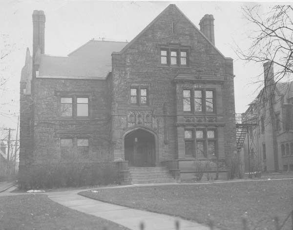 Francis Fleury Prentiss S Home 8811 Euclid Founder Of Cleveland