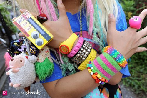 kawaii cute decora japan japanese bracelets girl ring fashion harajuku
