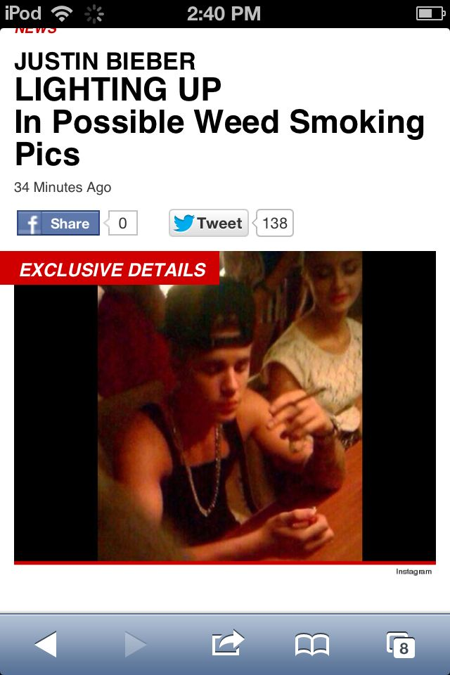 Justin bieber lighting up weed and kissed Ariana Grande just 3 days ago and  sc 1 st  Pinterest & Justin bieber lighting up weed and kissed Ariana Grande just 3 ... azcodes.com