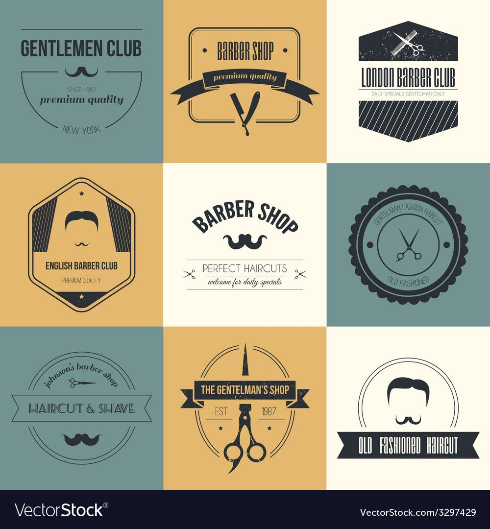 Pin by ly on painting Barber logo, Haircuts for men, Logos