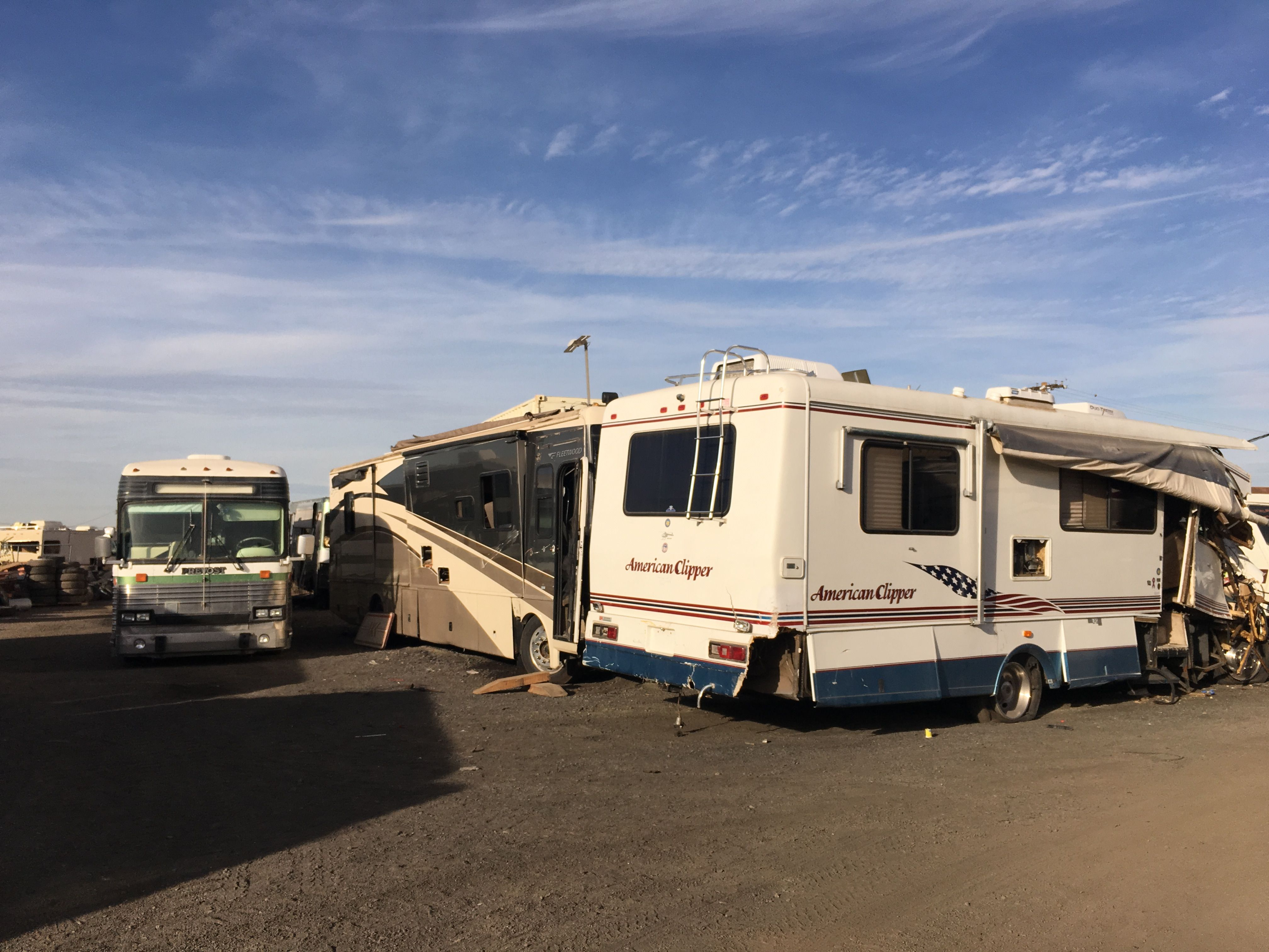 American clipper rv parts at arizona rv salvage