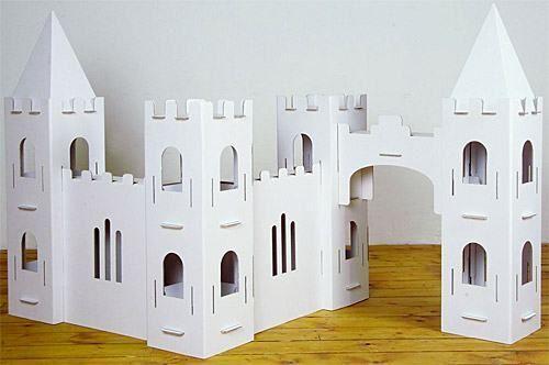 Castelo De Papelão Artesanato Castelo De Papelão Casa De