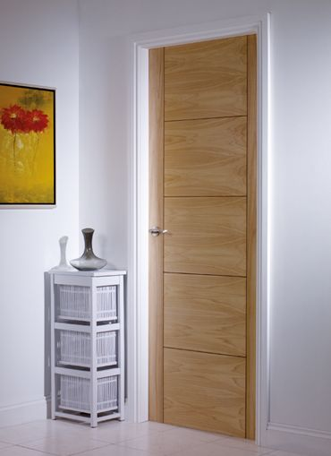5 Panel V Groove Internal Door