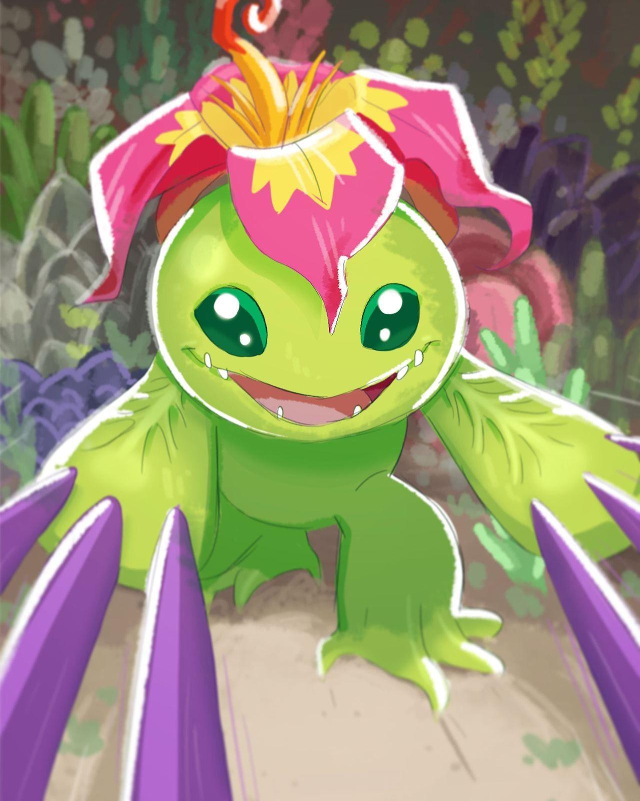Pin de Lucia Navas en Digimon (con imágenes) | Imagenes kawaii ...