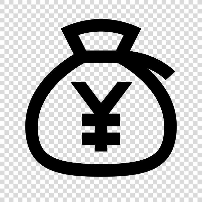 Money Bag Yen Sign Euro Sign Money Bag Png Money Bag Area Bank Black And White Brand Euro Sign Money Bag Currency Symbol