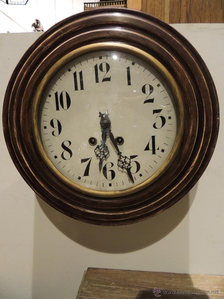 Reloj de pared redondo con soneria relojes pared carga - Reloj para pared ...
