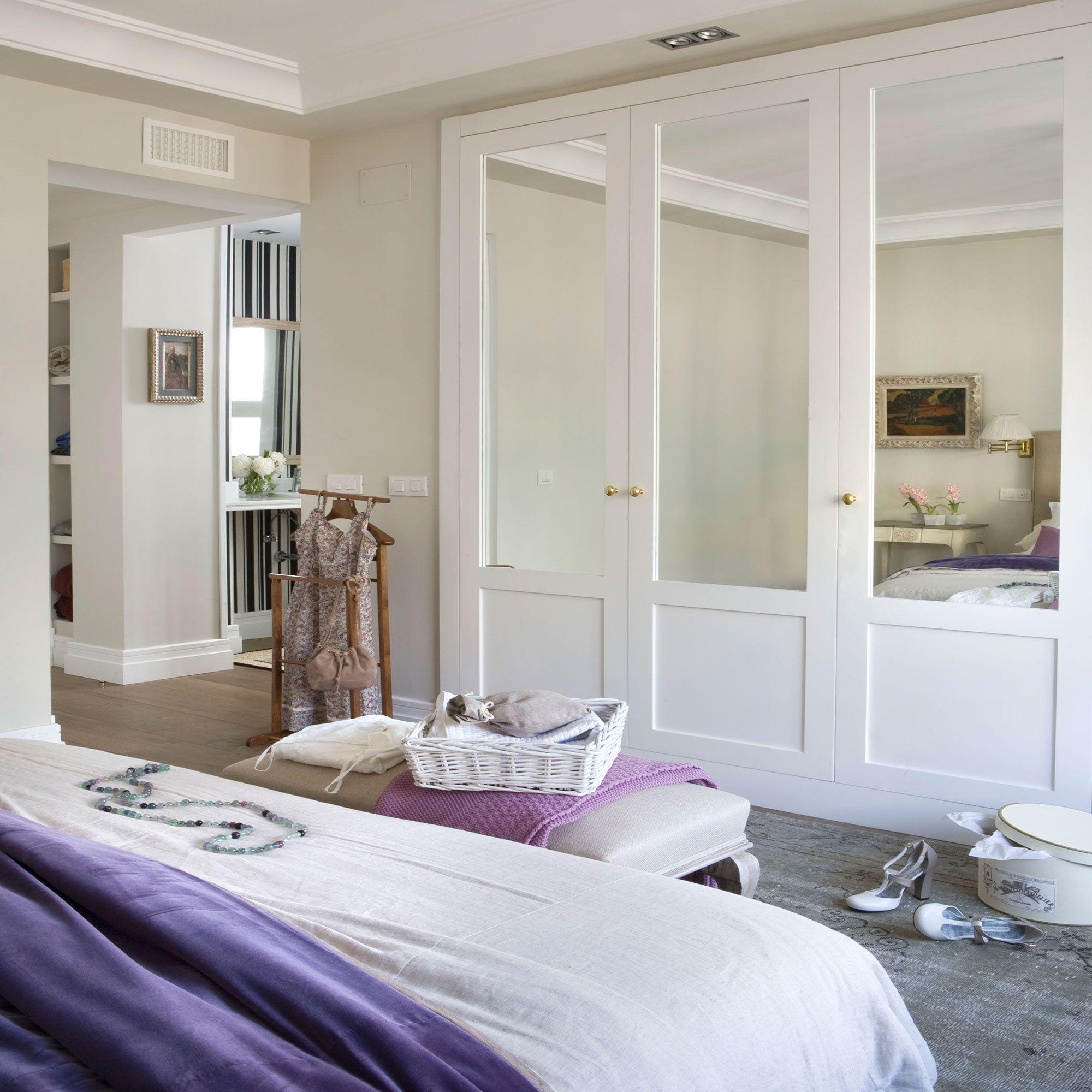 7 armarios geniales que querrás copiar | El dormitorio, Armario y ...