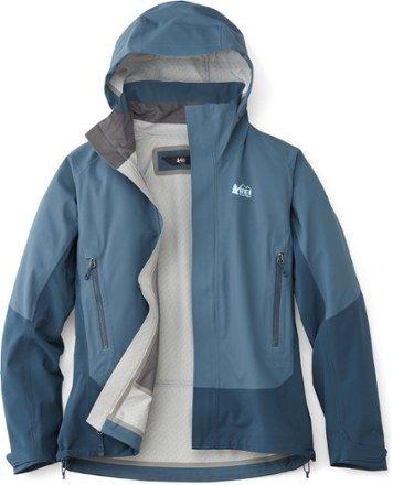 e50263025 REI Co-op Women's Talusphere Rain Jacket Cool Aqua XL   Products ...