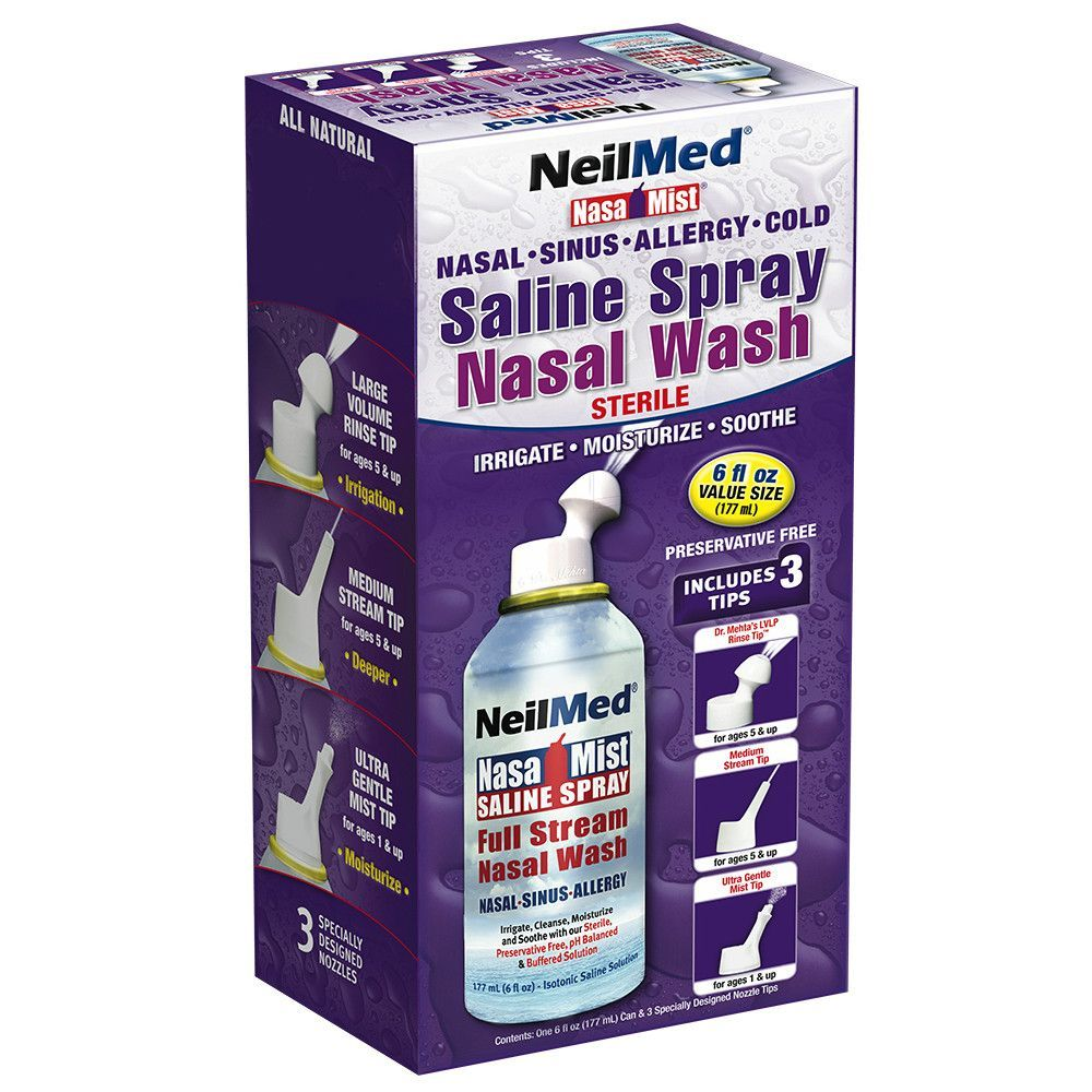 NasaMist All-in-One Saline Spray