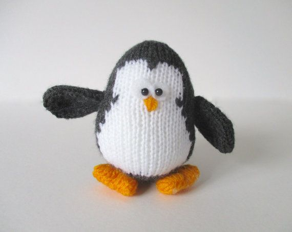 Hopkins The Penguin Toy Knitting Patterns Hopkins The Penguin Is