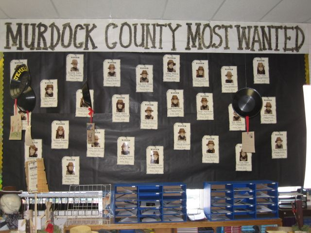 Gold Rush Wanted Posters Classroom Bulletin Boards 4th