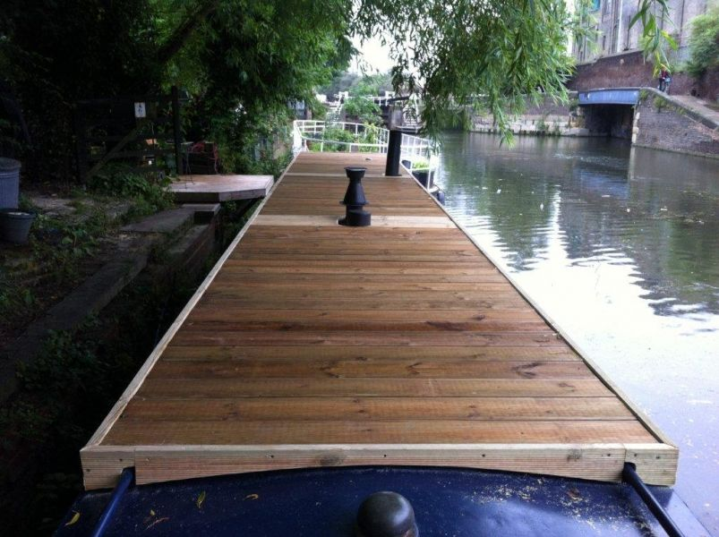 I Like The Idea Of Having A Usable Roof Canalboat