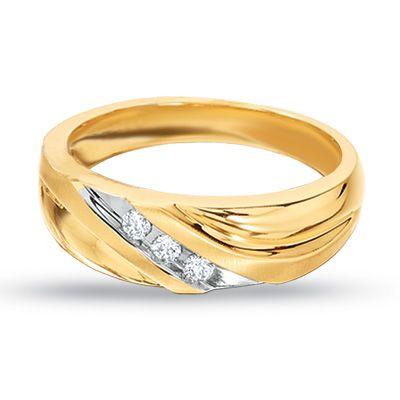 Previously Owned Mens 110 CT TW Diamond Three Stone Wedding
