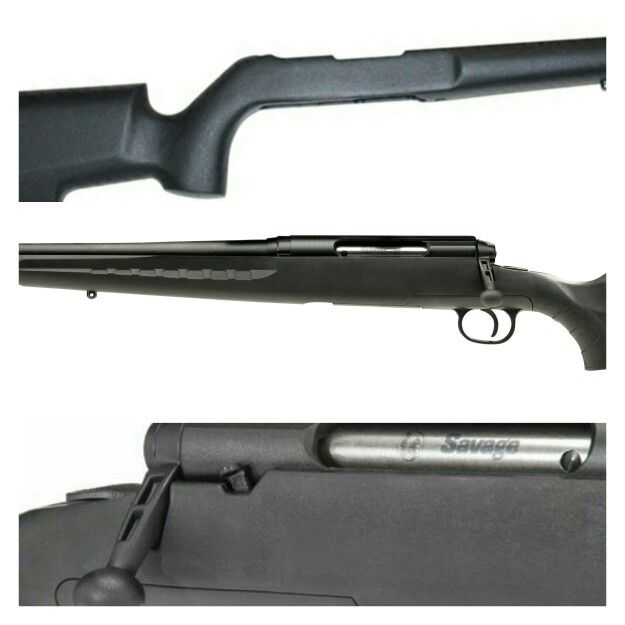 Savage Axis in 308 with Boyds Gunstocks Pro Varmint stock before