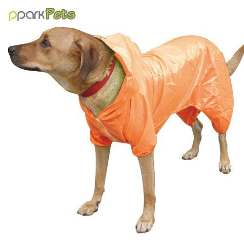 Dog Pocket Raincoat Orange Medium Tried It Love It Click The Image Dog Coats Dog Raincoat Dog Coats Pets