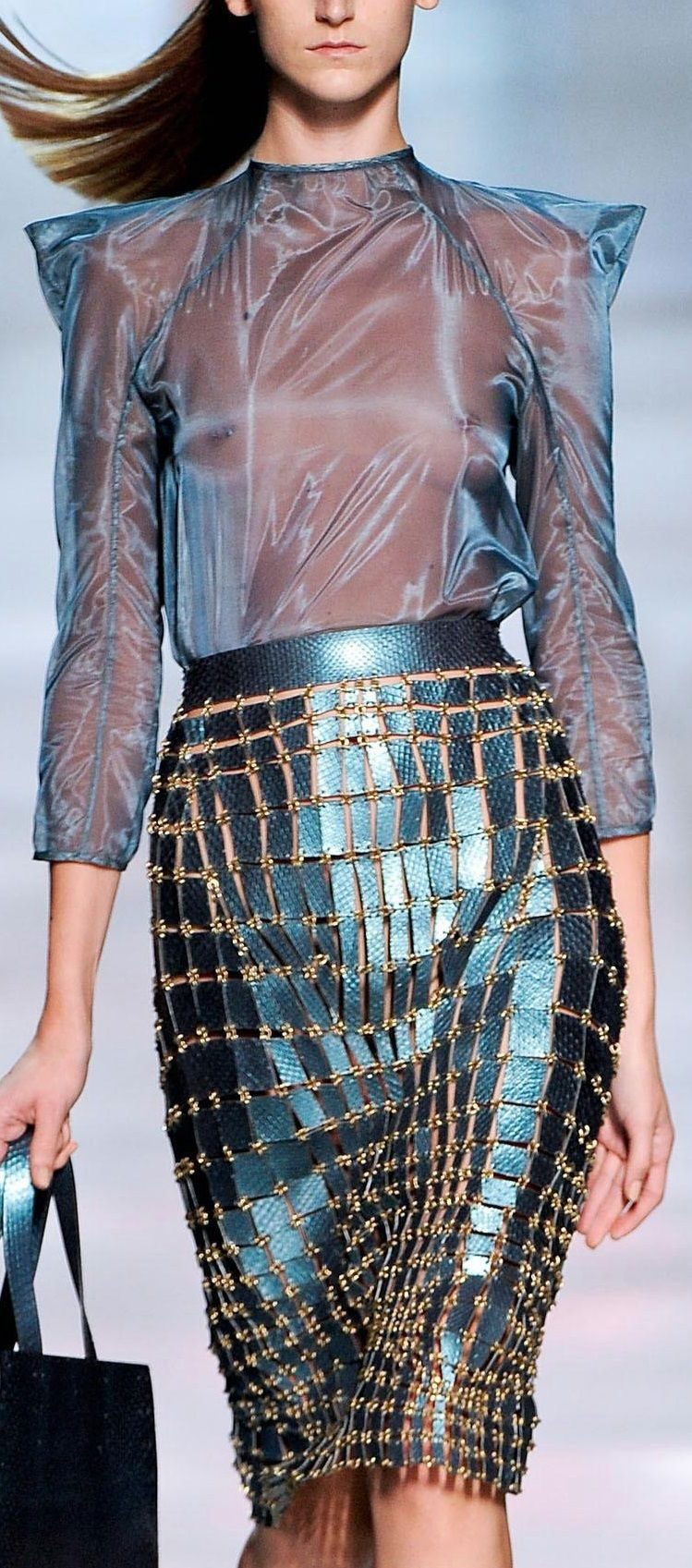 Paris Fashion Week Spring Summer 2012 Ready To Wear - Paco Rabanne - Catwalk-d143393cb9dc5c2d87389ec4ea9f6967