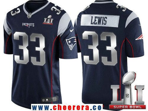 8175f49e4d3 ... jersey 3a831 a3184; ebay mens new england patriots 33 dion lewis navy  blue with silver 2017 super bowl li