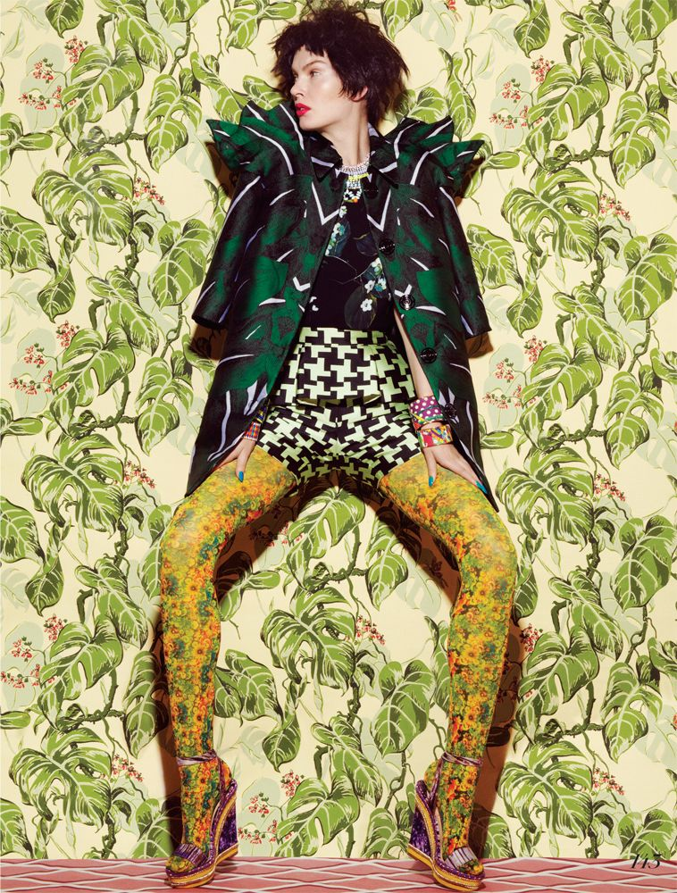 Jamie Nelson: Shoot with model Anastasija Kondratjeva for Fashion Magazine Canada, March 2013