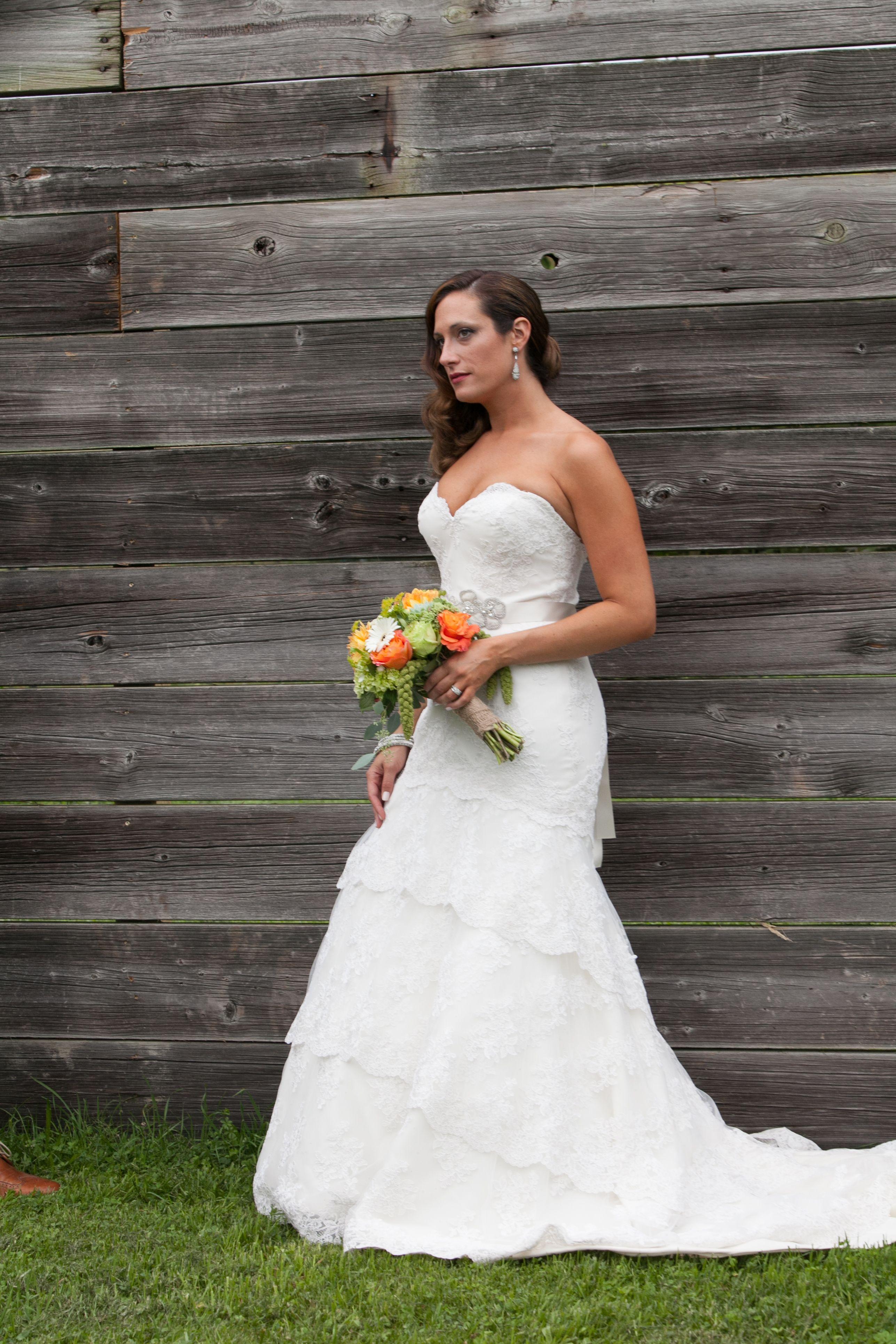 87b3c0740e91c wedding dress | wedding shoes | wedding accessories | portrait | yellow  flowers | rustic wedding