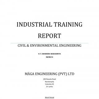 Page  Of  University Of Auckland Industrial Training Report