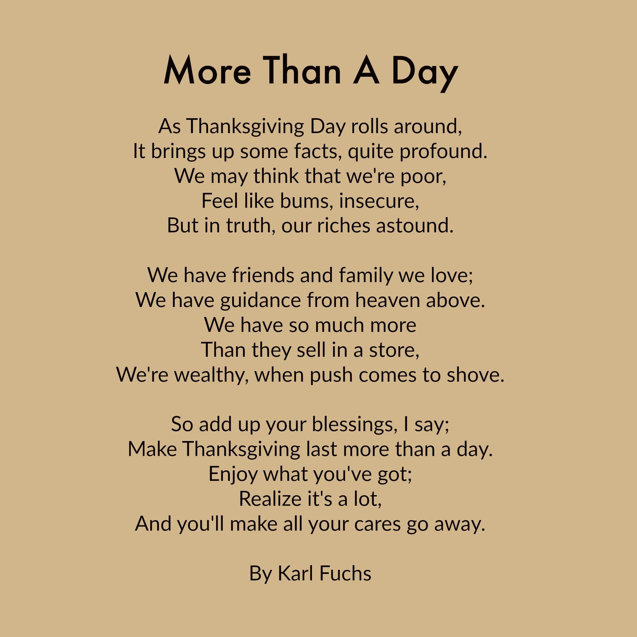 Fashion style Blessings Thanksgiving poems pictures for girls
