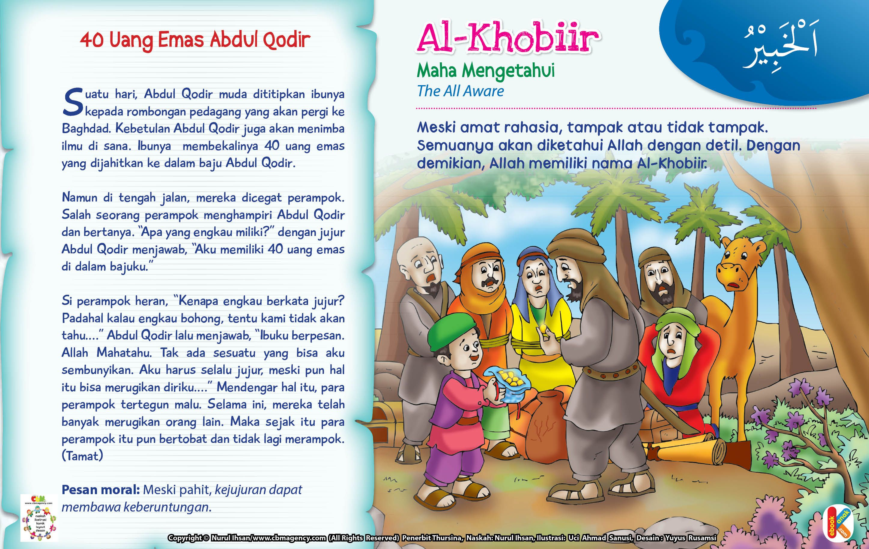 Kisah Asma'ul Husna AlKhobiir (Dengan gambar) Anak