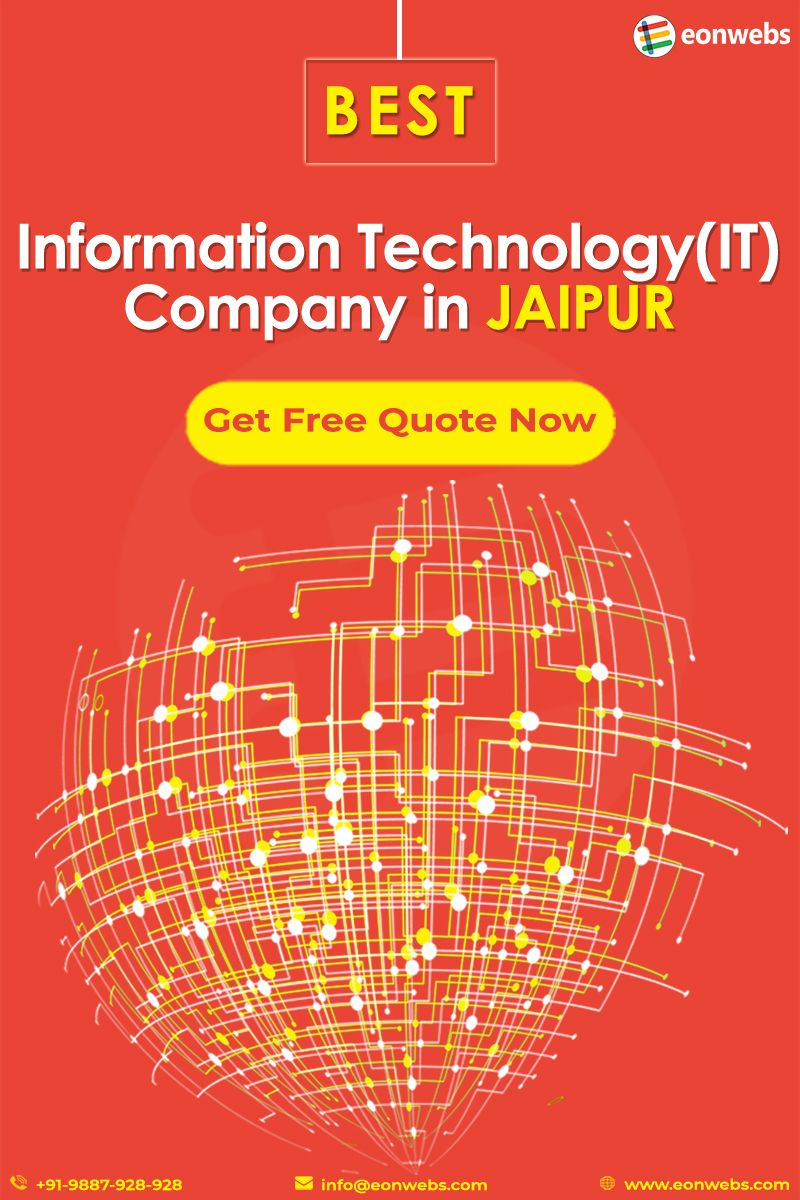 Eonwebs is a Jaipur based IT Company founded in 2013 which