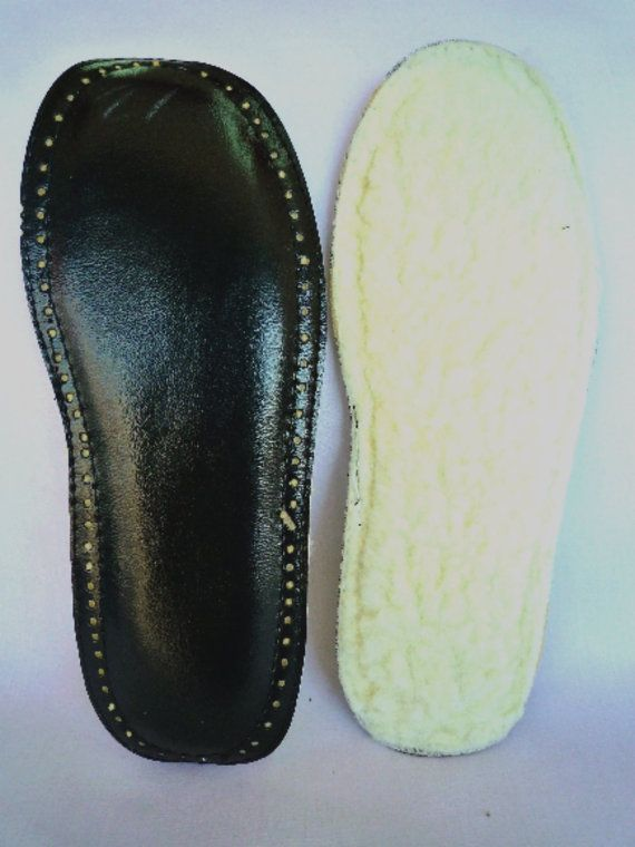 Soles for crochet slippers, prepunched holes, indoor use soles ...