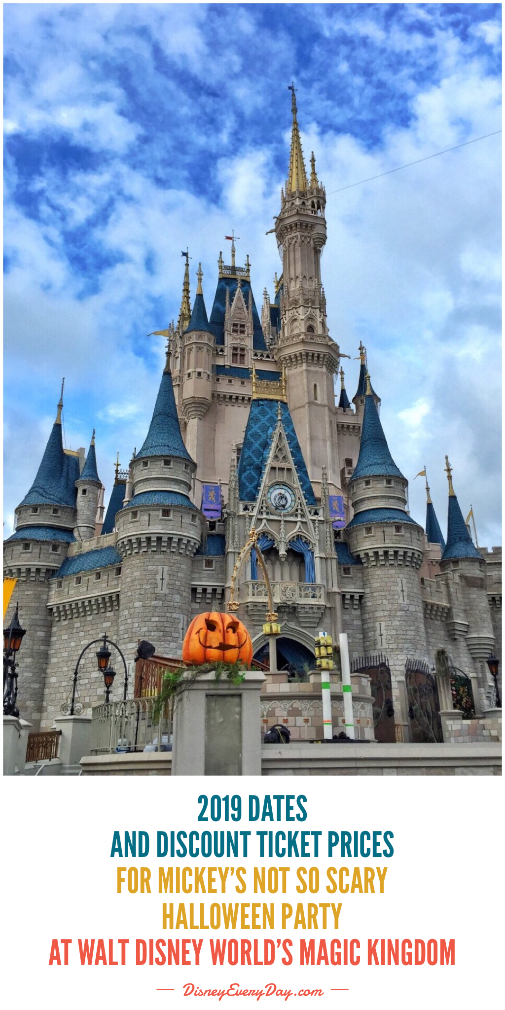Dates And Discount Ticket Prices For The 2019 Mickey S Not So Scary Halloween Party At Walt Di Scary Halloween Party Disney World Magic Kingdom Scary Halloween