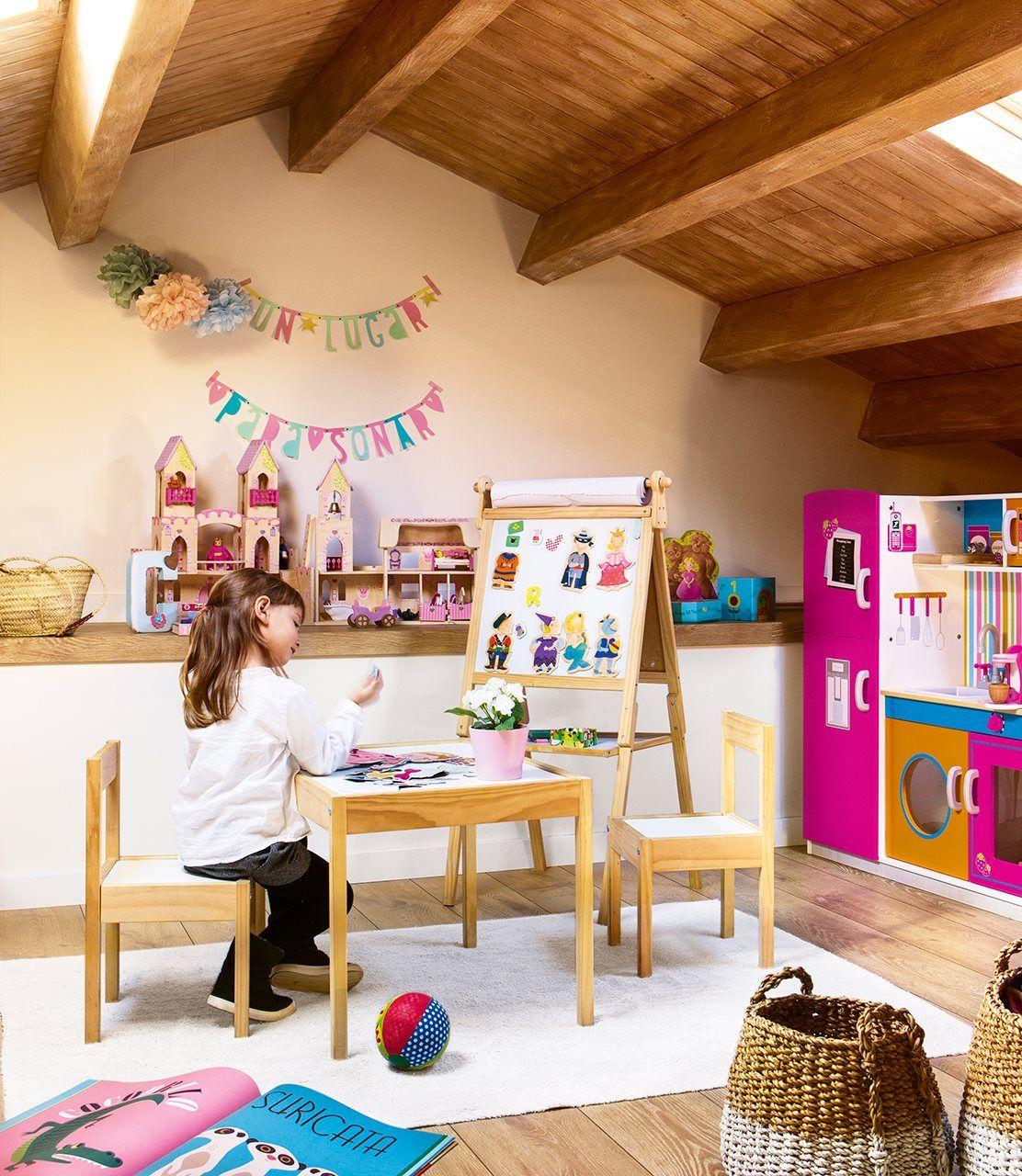 zona de juegos habitacion infantil nios ikea juguetes