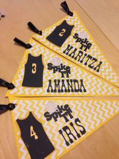 cheerleading locker decorations. Volleyball locker decorations  Pinteres