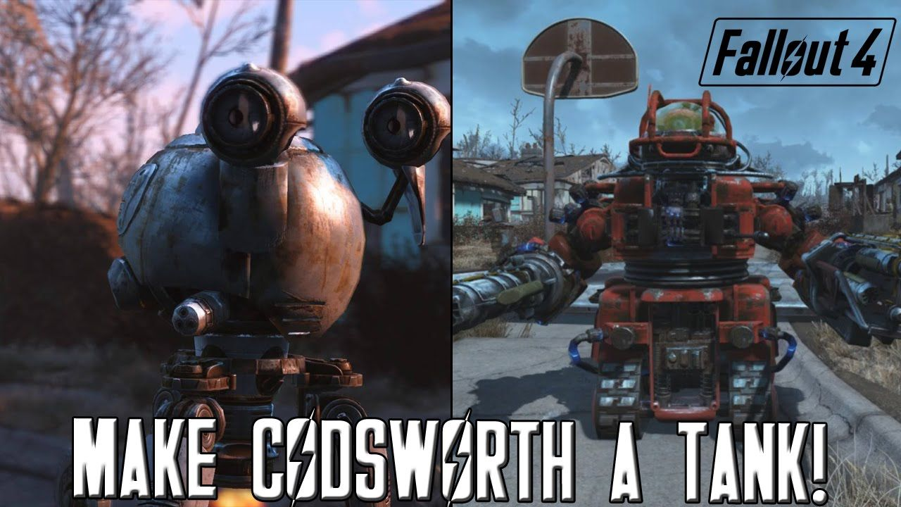 FALLOUT 4 Automatron: How To Make Codsworth A TANK! [Best