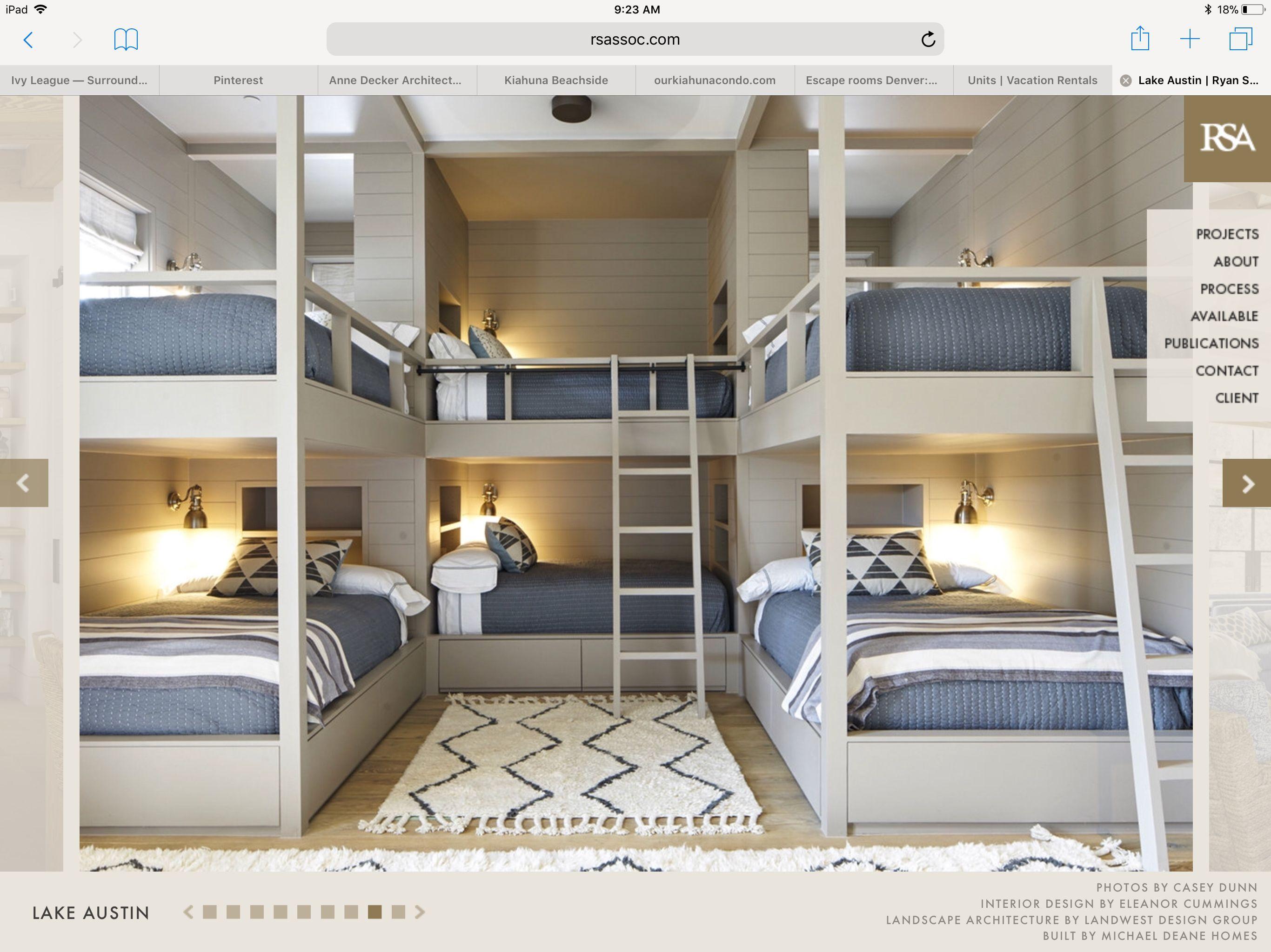 Full Size Bunks Salvabrani Bunk Bed Rooms Bunk Beds Built In Bunk Rooms