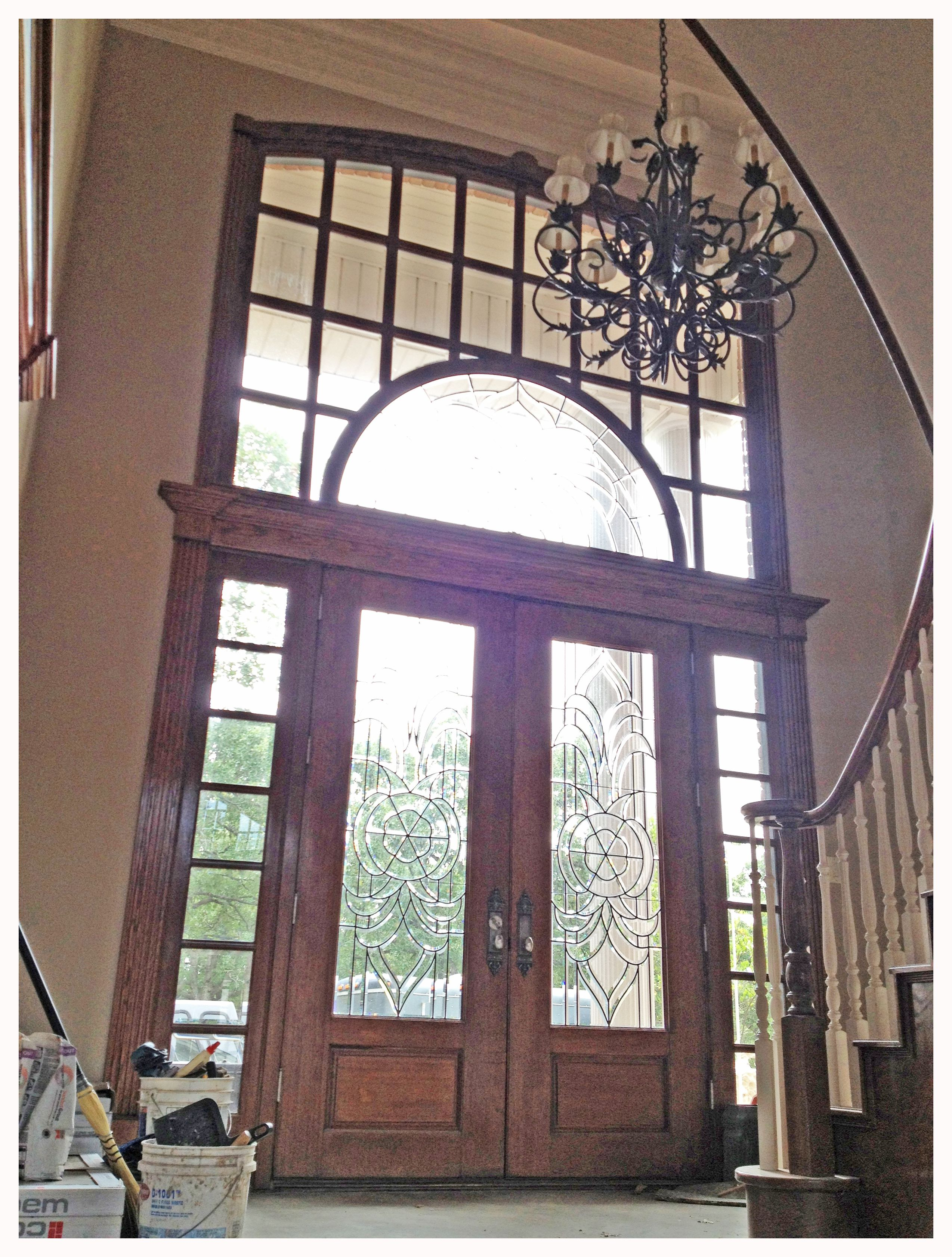 Awesome Front Entry Door Unit From My Childhood Home 8 39 Double Door With