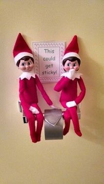 23 Cute & Clever Ways to Celebrate the Arrival of Elf on the Shelf | CafeMom #lutindenoel