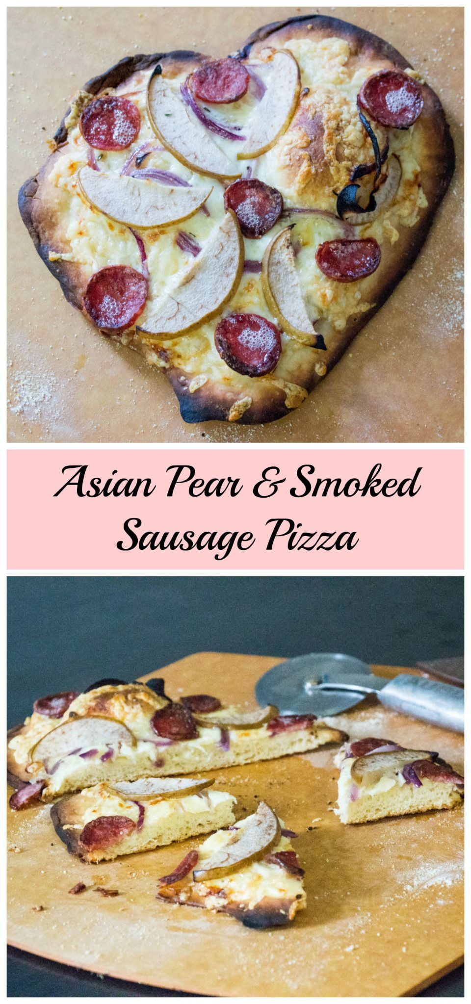 Big sausage pizza asian