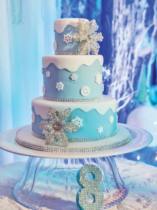 Disneys Frozen Birthday Party with a Frozen theme Sugar Chef