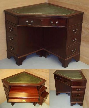 Antique Corner Desk 78cmx81cmx81cm