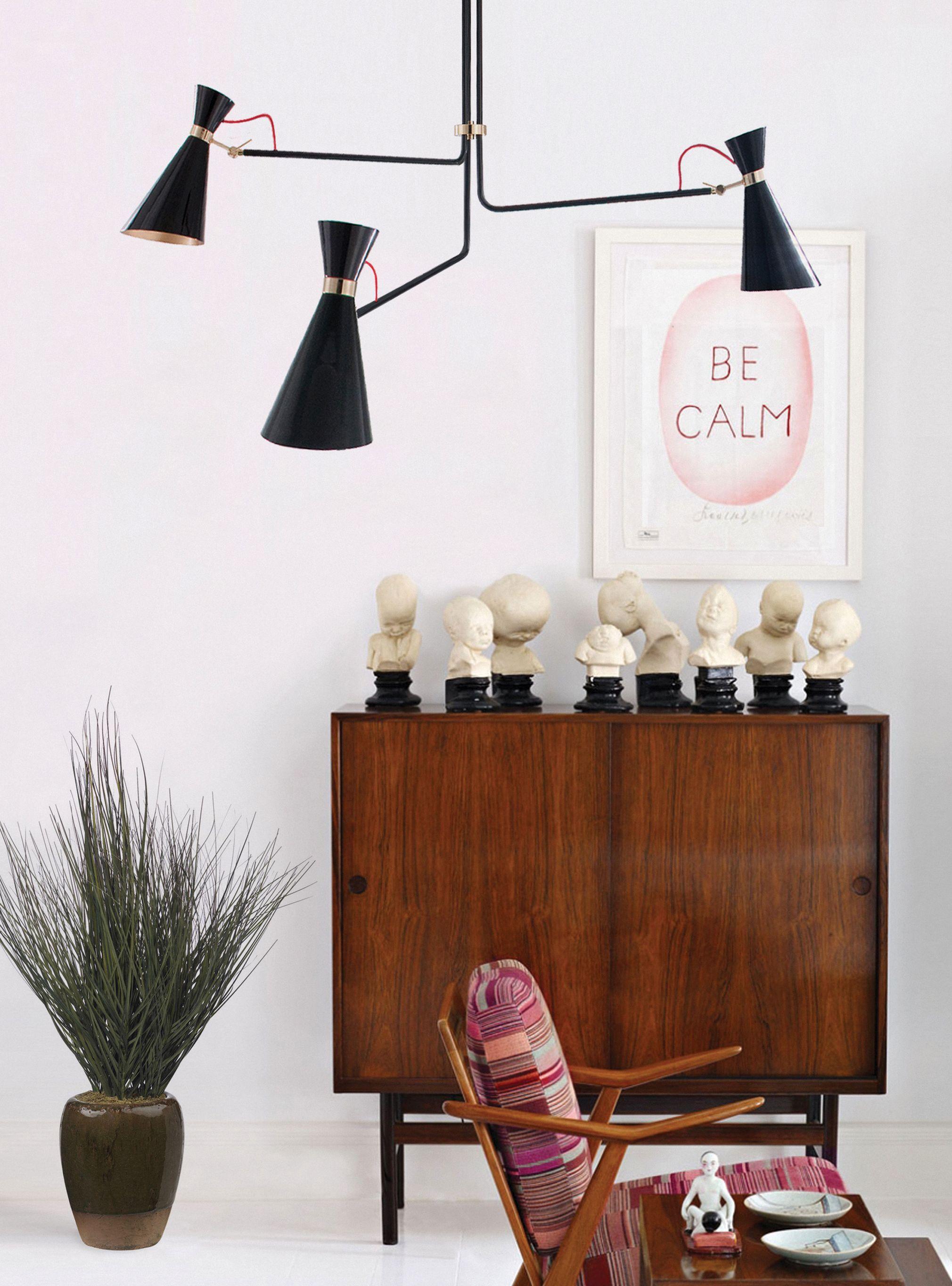 Simone Retro Suspension Lamp