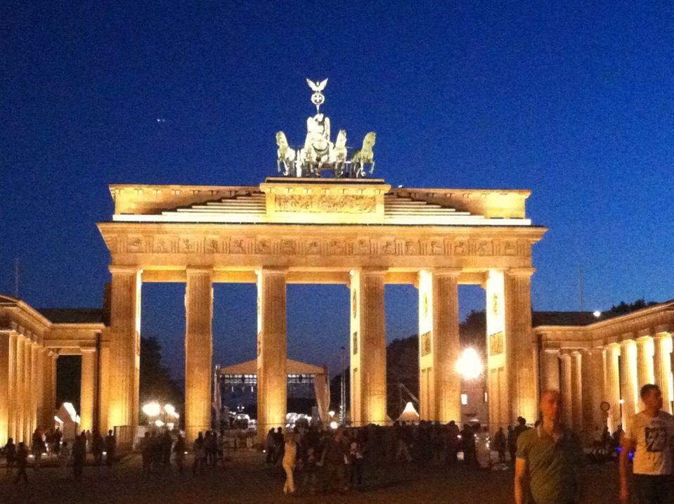 Brandenburger Tor Brandenburg Gate Trip Travel Dreams