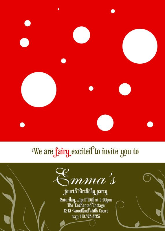 like this invitation